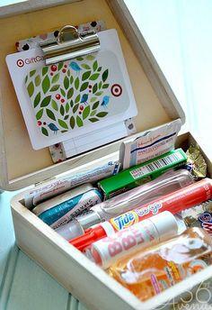 Teacher Appreciation Gift Ideas: Teacher Emergency Kit w/ Target Gift Card!   The Krazy Coupon Lady #teacherappreciationgifts