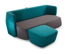 Fabric sofa bed REVOLVE by prostoria Ltd design Roberta Bratovic, Ivana Borovnjak, Numen / For Use