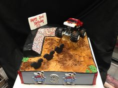 Monster Truck #Cake by Bella Christie and Lil' Z's Sweet Boutique