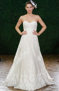 Watters Wedding Dresses Spring 2015 Collection. To see more: http://www.modwedding.com/2014/04/23/watters-wedding-dresses-spring-2015/ #wedding #weddings #fashion