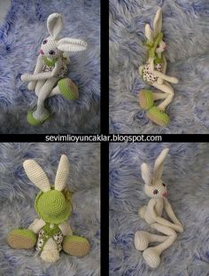 amigurumi 19 inc bunny by dolls, via Flickr
