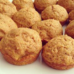 Pumpkin Oatmeal Dark Chocolate Chip Muffins