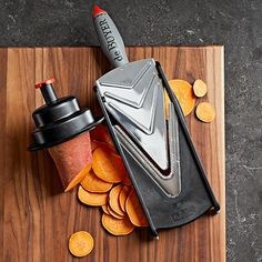 Love potato fries? Now you can make them at home easily and very convenient with this tool! > de Buyer Kobra Adjustable Slicer