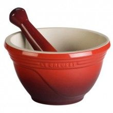 LE CREUSET 20 Oz Mortar & Pestle Cherry $29.96  1 DAY ONLY! ENTER 25% OFF COUPON CODE: PZB6K63O16 FREE SHIPPING * MONEY BACK GUARANTEE HAPPY MOTHER'S DAY! (Remember to Enter Coupon Code PZB6K63O16 at Checkout to receive your instant discount)