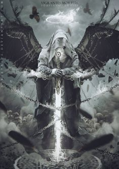 Archive Realm of Fantasy: Of Angels and Demons Vol. 2 :iconrealm-of-fantasy: &nb. Collection: Of Angels and Demons Vol. Dark Fantasy Art, Fantasy Artwork, Dark Art, Demon Artwork, Archangel Tattoo, Archangel Azrael, Art Noir, Knight Tattoo, Vigilante