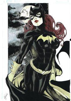 Batgirl, in Adam Jensens Some Collected Favorites Comic Art Gallery Room - 1008350