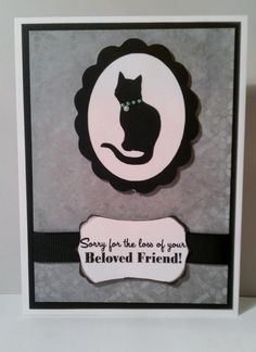 Pet memorial card www.makinprettythings.com