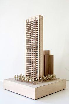 Richard Meier-Designed Skyscraper Underway in Taipei,Courtesy of Richard Meier & Partners Architects