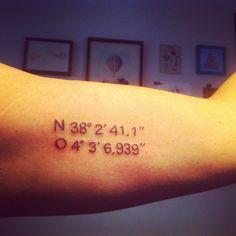 The numbers of the grandpa's house. Thanks Miguel #tattoo #blacktattoo #surimitattoo #ink #black #coordinates #coordinatestattoo #puxa #btattooing #darkartists #blackink #black #cooltattoos #numberstattoo #malasaña #line #coordenadas #minimalism #tatuaje #art #drawing #tattooing #tattoos #radtattoo #weird #typo #art #typographytattoo #numbers #blackworkershero #inked #malasaña #madrid