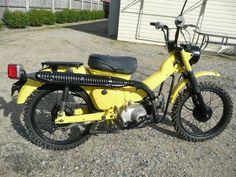 ct110 - yellow, black accessories