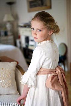 Childhood - little southern belle...