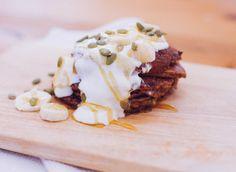Cocoa, Banana & Avocado Pancakes Different Recipes, Camembert Cheese, Cocoa, Avocado, Tasty, Banana, Healthy, Lawyer