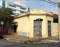 Armazém do início do século 20, na rua Padre Raposo bairro da Mooca