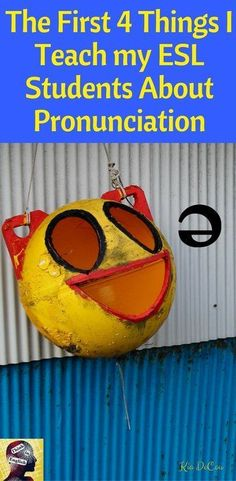 This post explains why teaching pronunciation to our ESL/EFL students is so important. It also gives step by step instructions on how to get started.