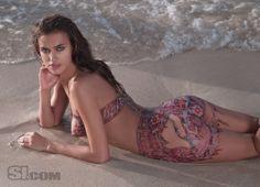 Irina Shayk Sports Illustrated Swimsuit 2009.