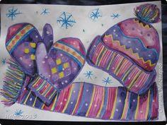 Представляю вашему вниманию 3 МК.  Первый рисунок посвящен символу года - овечке в еловом веночке.  Для работы нам понадобится: гуашь, бумага А3, кисти пони №1, 3 и жесткая круглая кисть №7, 2-3 листа ксероксной бумаги, палитра. фото 55 Winter Art Projects, Projects For Kids, Crafts For Kids, Arts And Crafts, Christmas Pictures To Color, Snow Activities, 4th Grade Art, Purple Art, Doodle Designs