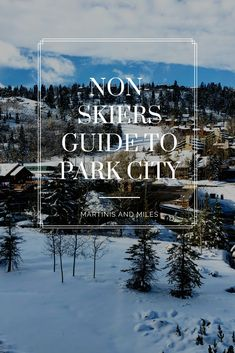 If your family loves to ski and you hate it, or you love snow and just want to relax, read the non skiers guide to Park City and Deer Valley Utah Great Vacation Spots, Utah Vacation, Spring Vacation, Park City Utah, Salt Lake City Utah, Deer Valley Utah, Trip Planning, Skiers, Winter Fun