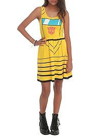 HOTTOPIC.COM - Transformers Her Universe Bumblebee Costume Dress