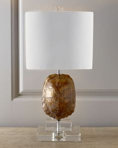 """Gold Tortoise"" Mini Lamp at Horchow."
