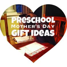 Great preschool Mother's Day gift ideas--gifts kids can make a be a part of, plus ideas for what Mom really wants!