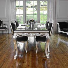 "PARIS HOME SINGAPORE / ""BAROQUE DIVINE"" 4-Seat Dining Set"