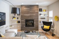 Modern Living Room Design Ideas, Pictures, Remodel and Decor