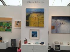 Crafts For Seniors, Senior Crafts, Modern Art, Contemporary, Affordable Art Fair, Gallery Wall, Arts And Crafts, Abstract, Cornwall