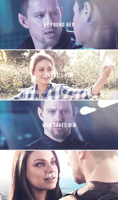 he found her but it's her who saves him in the end #jupiterascending