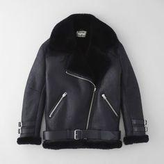 Acne Studios Velocite Shearling Jacket | Women's Jackets | Steven Alan