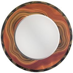 View all Grant Noren mirrors at http://www.sweetheartgallery.com/collections/grant-noren-faux-finish-wood-mirrors-artistic-artisan-designer-mirrors