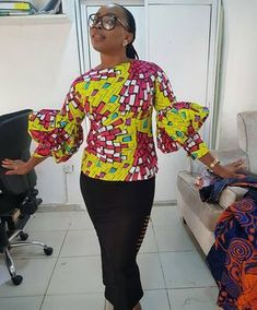 """910 Likes, 4 Comments - Select A Style (@selectastyle) on Instagram: """"Vibrant top from @beloiscouture -"""""""