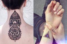 geometric tattoo design - Google Search