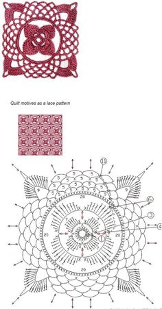 crochet motives pattern diagram