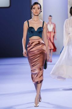 Ulyana Sergeenko Couture Spring Summer 2014 Paris - NOWFASHION