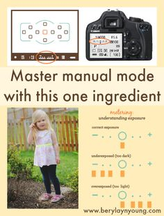 Master manual mode with this one ingredient - Beryl Ayn Young