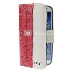 USD $ 13.99 - Fashion PU Leather Full Body Case for Samsung Galaxy S4 I9500 (Assorted Colors)