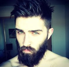 CHRISJOHNMILLINGTON. this guy is gorgeous and has one of the most beautiful beards out there.