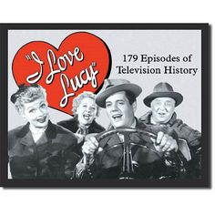 I Love Lucy Television History Logo