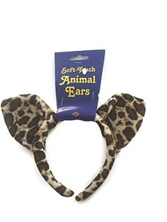 Set of 3 Plush Leopard Animal Ears with Plush Headbands Beistle http://www.amazon.com/dp/B00V5FZAA4/ref=cm_sw_r_pi_dp_Pcafvb13WK5MY