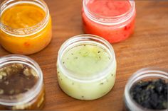 Homemade Face Scrubs for Every Skin Type || with just an exfoliant and an oil add fruits and vegetables for extra benefits