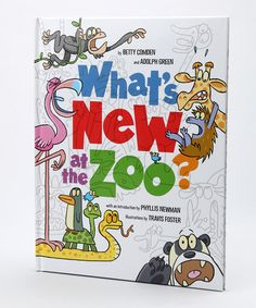 Take a look at this What's New at the Zoo? Hardcover by Random House on #zulily today!
