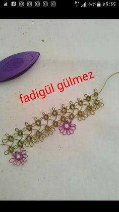 Tatting, Elsa, Needlework, Crafts, Amigurumi, Tejidos, Embroidery, Dressmaking, Manualidades