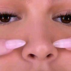 Nose Makeup, Edgy Makeup, Contour Makeup, Eyeshadow Makeup, Makeup Eyes, Oval Face Makeup, Anime Eye Makeup, Doll Eye Makeup, Matte Eye Makeup