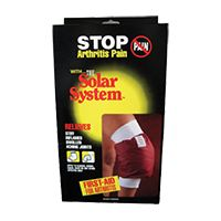 Hudson Medical Solar System Arthritic Relief Pad and Sleeve are to be used with Hudson Medical Solar System Arthritic Relief System (Code #H6800). Pad is made of a combination of Solar and Epsom Salts with three gel pads that can be heated in the microwave and then placed on affected areas. Sleeve can be placed over a limb joint for added insulation, keeping body heat and pad warm for hours of pain relief.