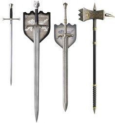 Desejo Nerd do Dia – Espadas Game Of Thrones   Garotas Nerds