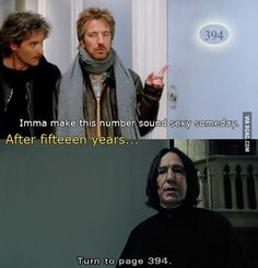 Snape - Alan Rickman - The January Man (with Kevin Klein) and damn did he make that number sound sexy as all hell Memes Do Harry Potter, Harry Potter Fandom, Harry Potter World, Potter Facts, Drarry, Dramione, Alan Rickman, Severus Snape, Snape Harry