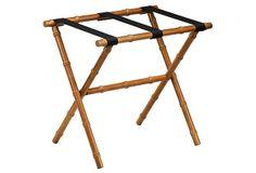 Ellen Luggage Rack, Bamboo on OneKingsLane.com