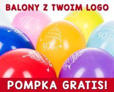 Balony z LOGO nadruk reklamowe 200 sztuk PROMOCJA