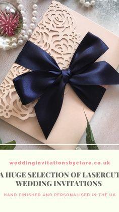Pocketfold Invitations, Laser Cut Invitation, Luxury Wedding, Gold Wedding, Dusky Pink Weddings, Alternative Wedding Inspiration, Bespoke Wedding Invitations, Butterfly Wedding, Laser Cutting