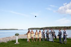 Seaside weddings at Atlantica Hotel & Marina Oak Island are so much fun! Layton Reid Photography